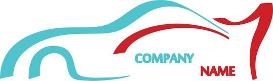 Logo de véhicule illustration libre de droits