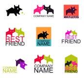 Logo de vecteur Images stock