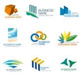 Logo de vecteur d'entreprise Photo stock