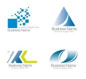 Logo de vecteur d'entreprise illustration stock
