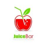 Logo de vecteur de bar à jus Photo libre de droits