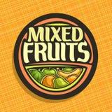 Logo de vecteur pour des fruits Illustration de Vecteur