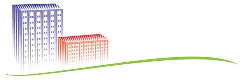 Logo de ville illustration libre de droits