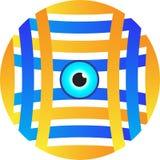 Logo de vision Photographie stock
