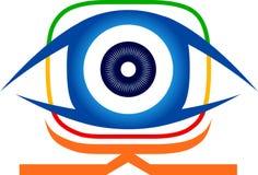 Logo de vision d'oeil Photo libre de droits