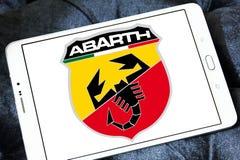Logo de voiture d'Abarth Image stock