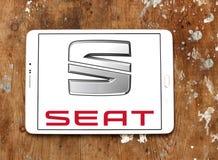 Logo de voiture de Seat photos libres de droits