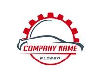 Logo de voiture et de vitesse Photo libre de droits