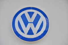 Logo de Volkswagen Photo stock