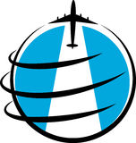 Logo de voyage Photo stock