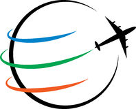 Logo de voyage Image stock
