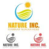 Logo de voyage Photographie stock