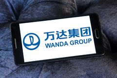 Logo de Wanda Group Photographie stock