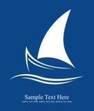 Logo de yacht Photos stock