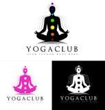 Logo de yoga Image stock
