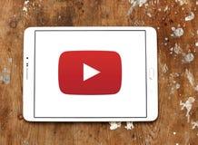 Logo de YouTube photo stock