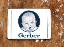Logo degli alimenti per bambini di Gerber Immagini Stock