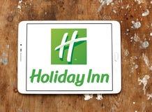 Logo degli hotel della locanda di Hotliday Fotografia Stock