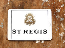 Logo degli hotel di St Regis Fotografie Stock