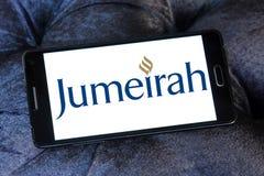 Logo degli hotel e delle località di soggiorno di Jumeirah Immagine Stock