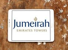 Logo degli hotel e delle località di soggiorno di Jumerirah Immagini Stock Libere da Diritti