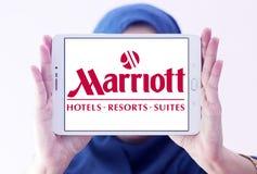 Logo degli hotel e delle località di soggiorno di Marriott Immagini Stock
