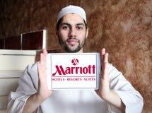 Logo degli hotel e delle località di soggiorno di Marriott Immagini Stock Libere da Diritti