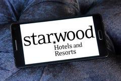 Logo degli hotel e delle località di soggiorno di Starwood Fotografia Stock Libera da Diritti