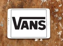 Logo dei furgoni Immagine Stock