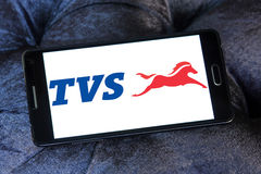 Logo dei motocicli delle TV Fotografia Stock Libera da Diritti