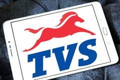 Logo dei motocicli delle TV Fotografia Stock