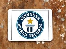 Logo dei record del mondo di Guinness immagini stock libere da diritti