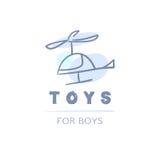 Logo del bambino di vettore Fotografia Stock