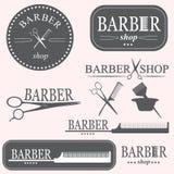 Logo del barbiere Immagine Stock Libera da Diritti