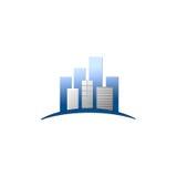 Logo del bene immobile Immagine Stock Libera da Diritti