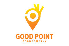 Logo del buon punto Fotografia Stock Libera da Diritti