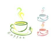Logo del caffè illustrazione vettoriale