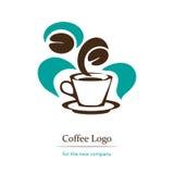 Logo del caffè Immagine Stock Libera da Diritti