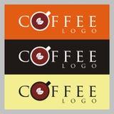 Logo del caffè Fotografia Stock Libera da Diritti