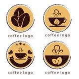 Logo del caffè illustrazione di stock