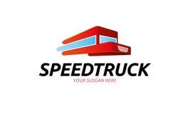 Logo del camion di velocità illustrazione vettoriale