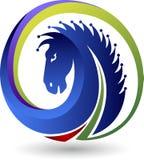 Logo del cavallo illustrazione vettoriale