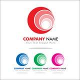 Logo del cerchio Fotografia Stock