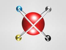 Logo del cerchio Fotografie Stock Libere da Diritti