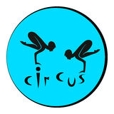 logo del circo Fotografie Stock