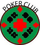 Logo del club della mazza Immagine Stock