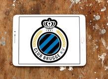 Logo del club di calcio di Bruges del club Immagini Stock Libere da Diritti