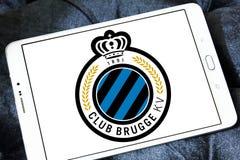 Logo del club di calcio di Bruges del club Fotografia Stock Libera da Diritti