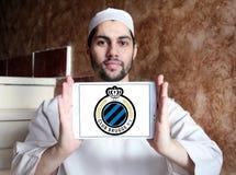 Logo del club di calcio di Bruges del club Immagine Stock Libera da Diritti