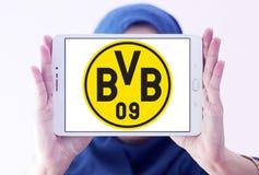 Logo del club di calcio del Borussia Dortmund Immagini Stock Libere da Diritti
